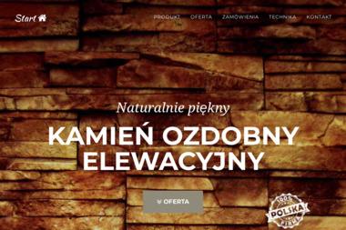 Kamien-elewacyjny.pl - Elewacja Domu Parterowego Błonie