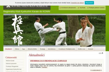 Regionalny Klub Kyokushin Karate-do - Sporty walki, treningi Konin