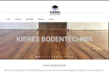 Kieres-Bodentechnik - Montaż wykładzin Weinheim