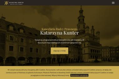 Kancelaria Radcy Prawnego Katarzyna Kunter - Adwokat Poznań