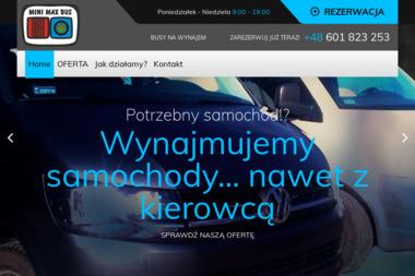 Mini Max Bus - Wypożyczalnia samochodów Gniezno