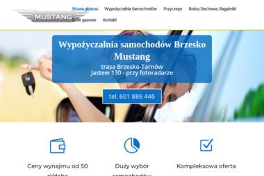 """Wypożyczalnia samochodów """"MUSTANG"""" - Wypożyczalnia samochodów Dębno"""