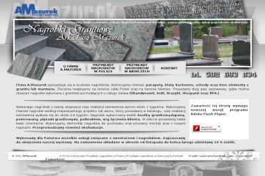 A.Mazurek - nagrobki granitowe - Kostki Kamienne Gorzów Wielkopolski