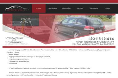 Firma Handlowo-Usługowa Rydzeński - Wypożyczalnia samochodów Sierpc