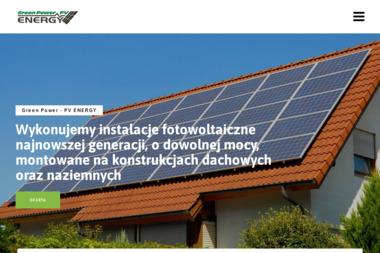 Green Power-PV Energy. Piotr Zieliński-Fotowoltaika. Kompleksowe usługi elektryczne - Oświetlenie Domu Kozienice