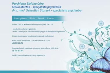 Specjalista psychiatra dr n. med. Sebastian Stoszek - Psycholog Zielona Góra