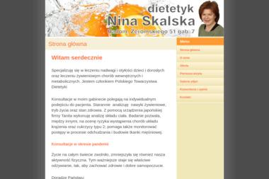 Nina Skalska - Dietetyk - Dieta Odchudzająca Radom