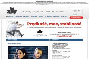 Telewizja Kablowa Koszalin Sp. z o.o. - Internet Koszalin