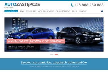 Auto Zastępcze Karpiński - Wypożyczalnia samochodów Wyszków