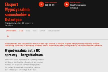 Ekspert Wypożyczalnia Samochodów - Wypożyczalnia samochodów Ostrołęka