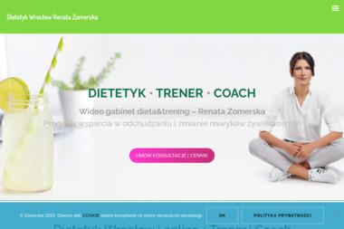 Renata Zomerska – dietetyk, trener, coach - Trener personalny Wrocław