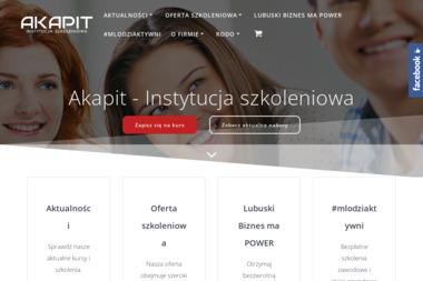 Angelika Sznabel AKAPIT - Biznes Plan Firmy Żary