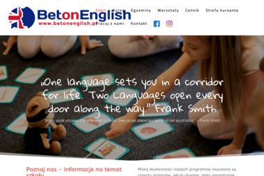 Szkoła językowa BET - Nauczyciele angielskiego Płock