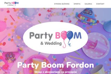 Party Boom - Balony z helem Bydgoszcz