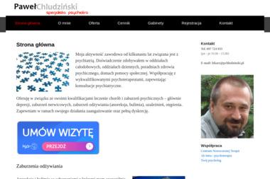 Psychiatra Paweł Chludziński - Psycholog Kłodzko