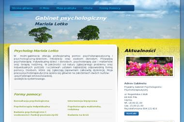 Prywatny Gabinet Psychologiczno-Psychoterapeutyczny Mariola Lotko - Psycholog Piła