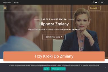 Hipnoza Zmiany Sandra Jakubowska - Medycyna niekonwencjonalna Gliwice