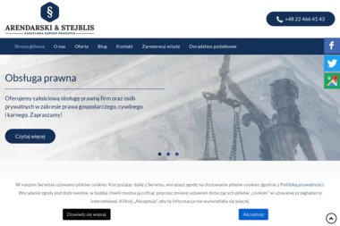 Kancelaria Radcy Prawnego i Doradców Podatkowych Czesław Dziemidok Marek Stejblis s.c. - Windykacja Warszawa