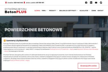 BETON PLUS SP. Z O.O. - Układanie Kostki Brukowej Owadów