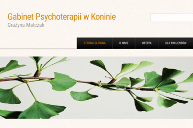 Gabinet Psychoterapii Uzależnień i Współuzależnien Mediator - Grażyna Malczak - Leczenie Uzależnień Konin
