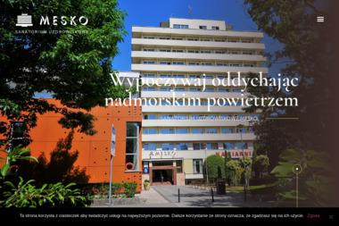 """Sanatorium Uzdrowiskowe """"Mesko"""" - Sanatoria, uzdrowiska Kołobrzeg"""
