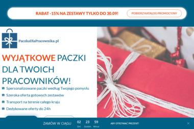 Paczki Pracownicze - Kosze prezentowe Jelenia Góra