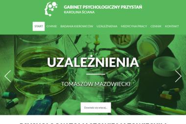 Gabinet Psychologiczny Przystań - Leczenie Uzależnień Tomaszów Mazowiecki