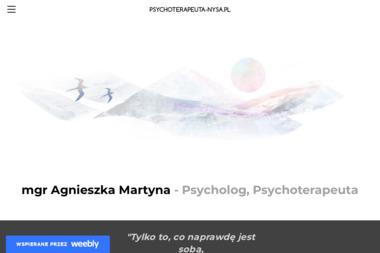 Psychoterapeuta mgr Agnieszka Martyna - Terapia uzależnień Nysa