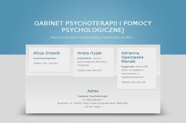 GABINET PSYCHOTERAPEUTYCZNY - Katarzyna Dziuba-Owsianka - Psycholog Mielec