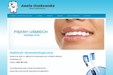 Gabinet stomatologiczny Aneta Oczkowska - Stomatolog Biała Podlaska
