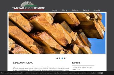 P.P.H.U. TARTAK CIECHOMICE - Skład drewna Płock
