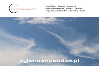 STUDIO ŻYJ W RÓWNOWADZE - Psycholog Piła