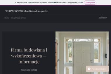 PPUH WOGAZ Wiesław Banasik w spadku - Firma remontowa Jaworzno