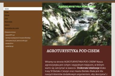 AGROTURYSTYKA POD CISEM - Agroturystyka Jaworze