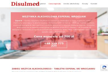 Disulmed Esperal Wrocław - Leczenie Odwykowe Wrocław