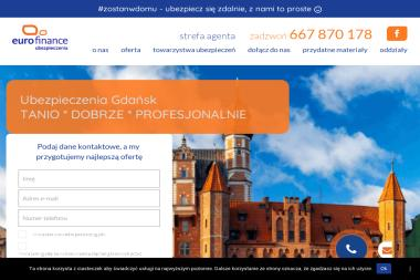 Eurofinance Sp. z o.o. – ubezpieczenia Gdańsk - Ubezpieczenia OC Gdańsk