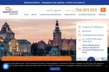 Eurofinance Sp. z o.o. – ubezpieczenia Szczecin - Ubezpieczenie firmy Szczecin