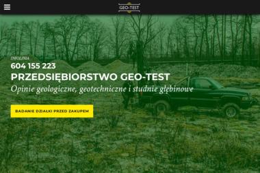 GEO-TEST - Studnie głębinowe Gliwice