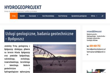 HYDROGEOPROJEKT - Geolog Bydgoszcz
