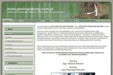 GEOLOGIA - Geotechnika Kozy