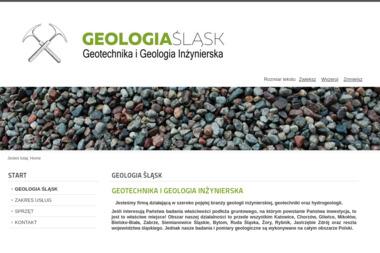 Geologia Śląsk - Geolog Jaworze