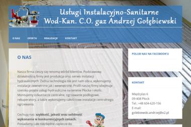 Usługi Instalacyjno-Sanitarne - Instalacje grzewcze Płock