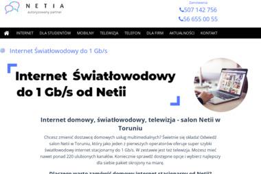 Salon Netia - Internet, Hosting, Domeny Toruń