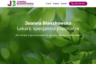 Lekarz, psychiatra Joanna Błaszkowska - Psycholog Kościan