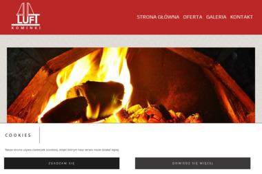 LUFT Kominki - Kominki Kaflowe Białystok