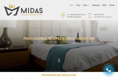 Midas Spółka z o.o. - Czyszczenie przemysłowe Warszawa