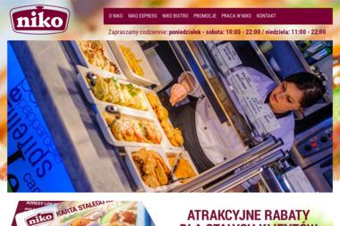 Sie膰 Restauracji NIKO - Lokale gastronomiczne Pi艂a