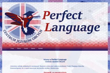 Perfect Language - Nauczanie Języków Wągrowiec