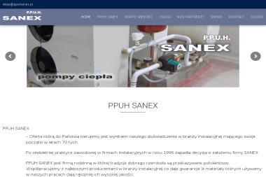 PPUH SANEX - Instalacje grzewcze Giżycko