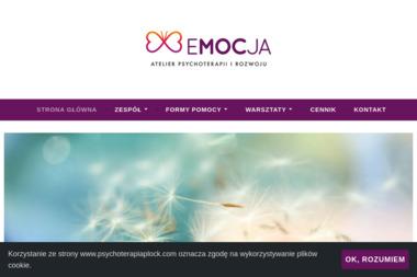 Atelier Psychoterapii i Rozwoju Emocja - Psycholog Płock